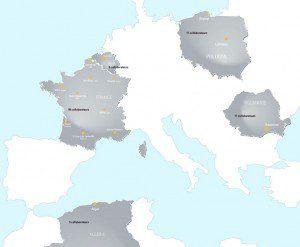 International Eneria locations