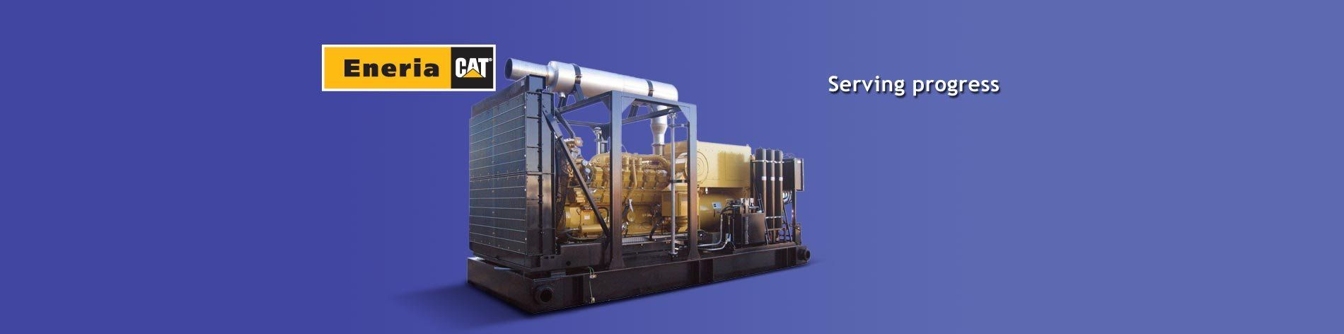 Our Caterpillar engines are suited to the oil and oil-services industries.