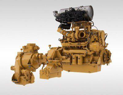 Solutia Caterpillar motor + transmisie TR43