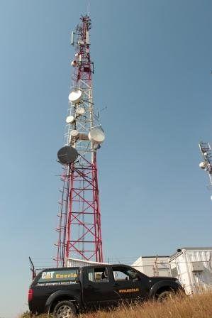 Aplicaţie standby pentru antene de telecomunicaţii